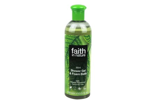 Faith In Nature Shower Gel and Foam Bath: Mint