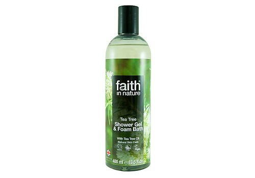 Faith In Nature Shower Gel and Foam Bath: Tea Tree