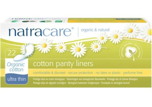 Natracare Panty Liners - Ultra Thin 22s