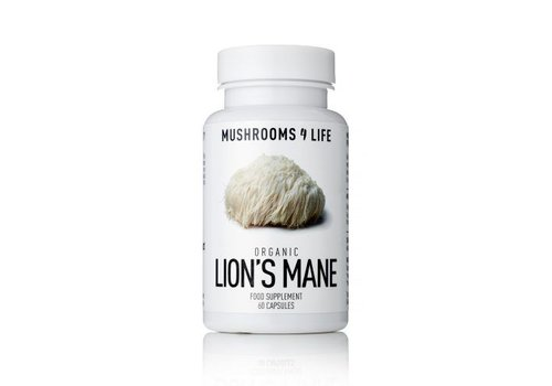 Mushrooms 4 Life Organic Lion's Mane
