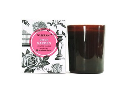 Tisserand National Trust Scented Candle - Rose Garden