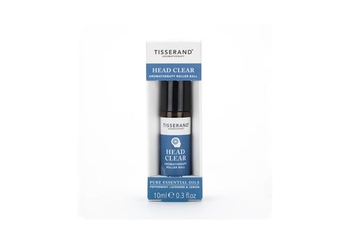 Tisserand Aromatherapy Roller Ball - Head Clear