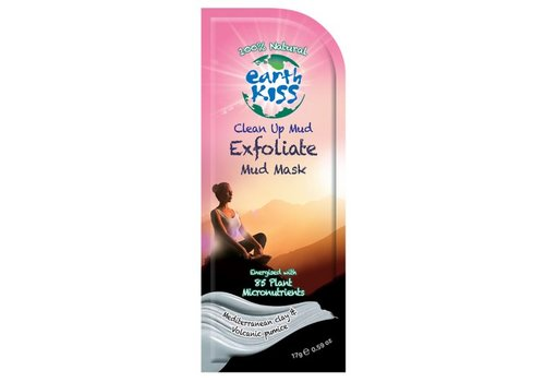 Earth Kiss Face Mask: Clean Up Mud Exfoliate