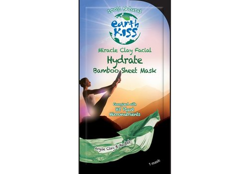Earth Kiss Face Mask: Miracle Clay Facial Hydrate