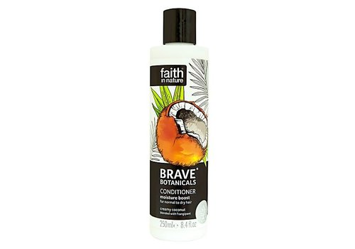 Faith In Nature Brave Botanicals Coconut and Frangipani Moisture Conditioner