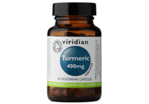 Viridian Organic Turmeric  400mg