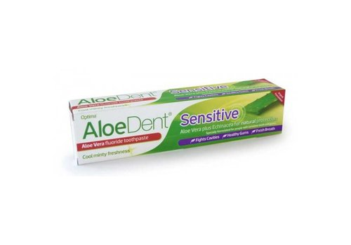 Aloe Dent Sensitive With Fluoride Toothpaste