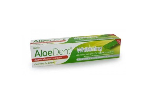 Aloe Dent Whitening with Fluoride Toothpaste