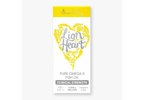 Bare Biology Lion Heart Omega 3 Liquid