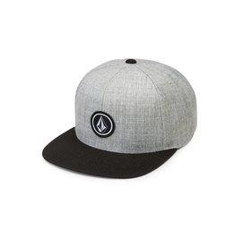 Volcom Volcom Quarter Twill Cap - Black Grey