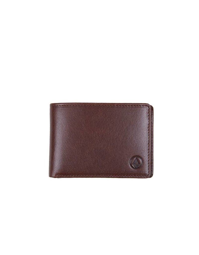 Volcom Volcom Leather Wallet - Brown