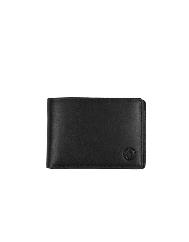 Volcom Volcom Leather Wallet - Black
