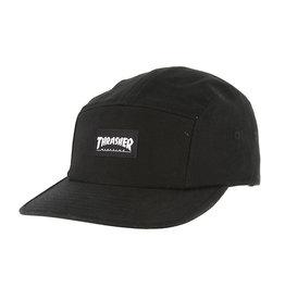 Thrasher Thrasher 5 Panel Hat - Black