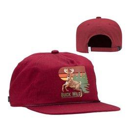 Coal Coal Field Hat - Red