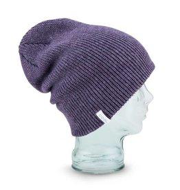 Coal Coal Frena Solid Beanie - Heather Purple