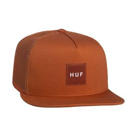 Huf Huf Box Logo Trucker - Terra Cotta