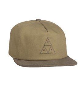 Huf Huf Triple Triangle Snapback - Khaki
