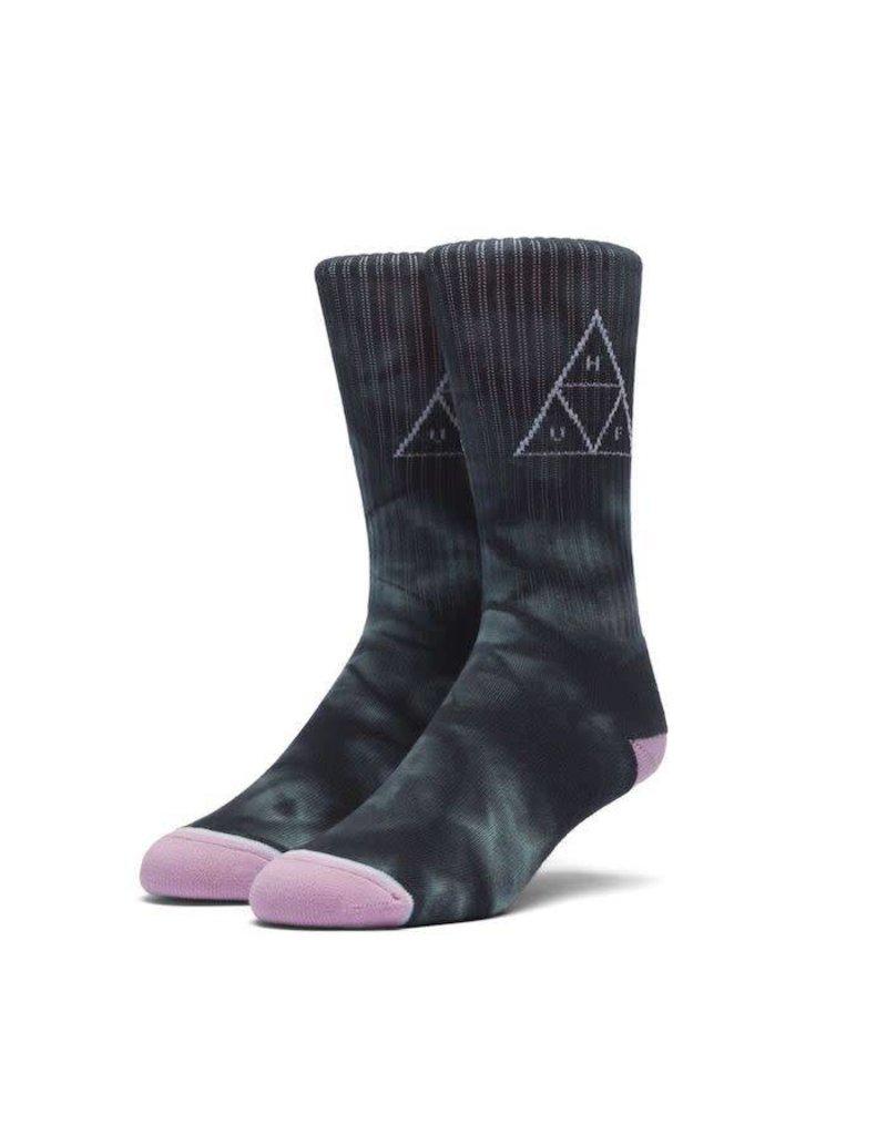 Huf Huf Washed Triple Triangle Socks - Jade