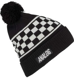 Analog Analog Bigelow Pom Beanie - Stout White Speed Check