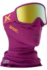 Anon Anon Derringer MFI Goggle - Purple/Gold Chrome