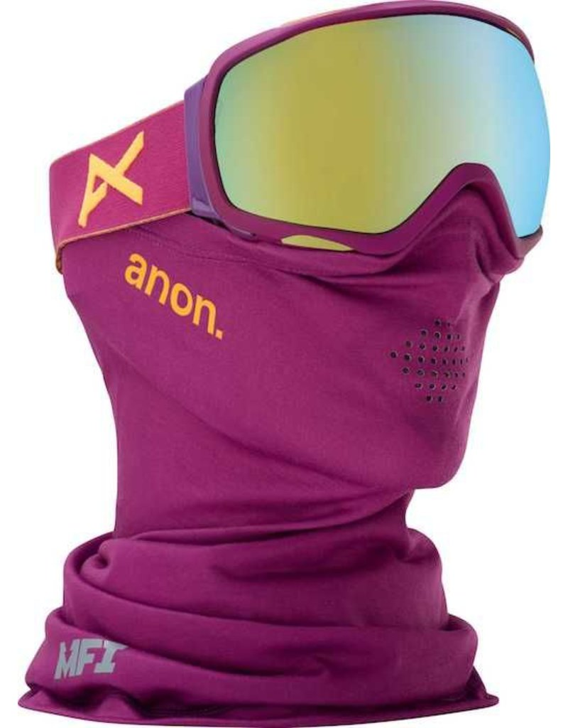 Anon Anon Tempest MFI Goggle - Purple/Gold Chrome