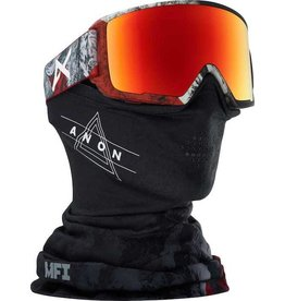 Anon Anon M3 MFI Goggle - Red Planet/Sonar Red