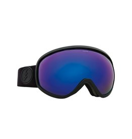 Electric Electric Masher Goggle - Matte Black/Brose/Blue Chrome