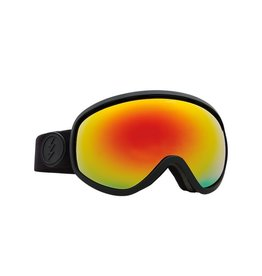 Electric Electric Masher Goggle - Matt Black/Brose/Red Chrome +