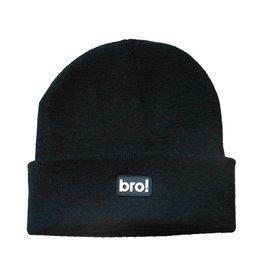 Bro! Bro! Beanie - Black