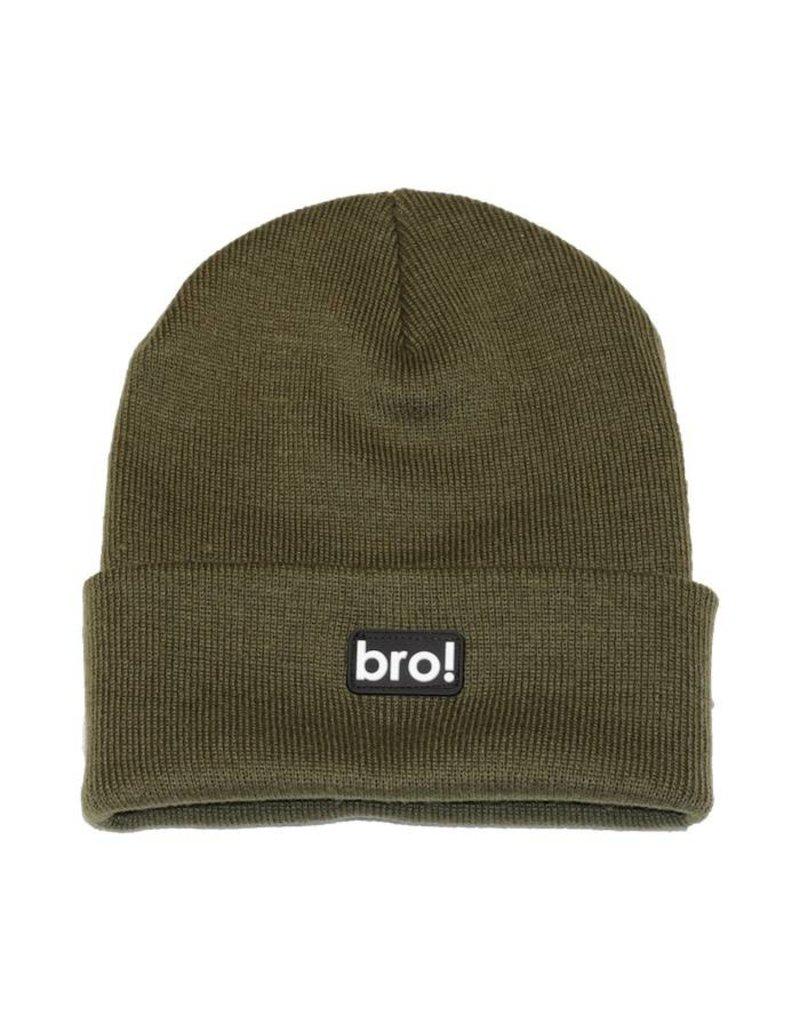 Bro! Bro! Beanie - Moss
