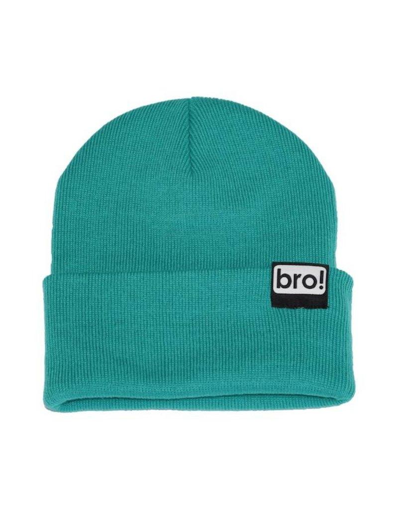 Bro! Bro! Beanie - Teal