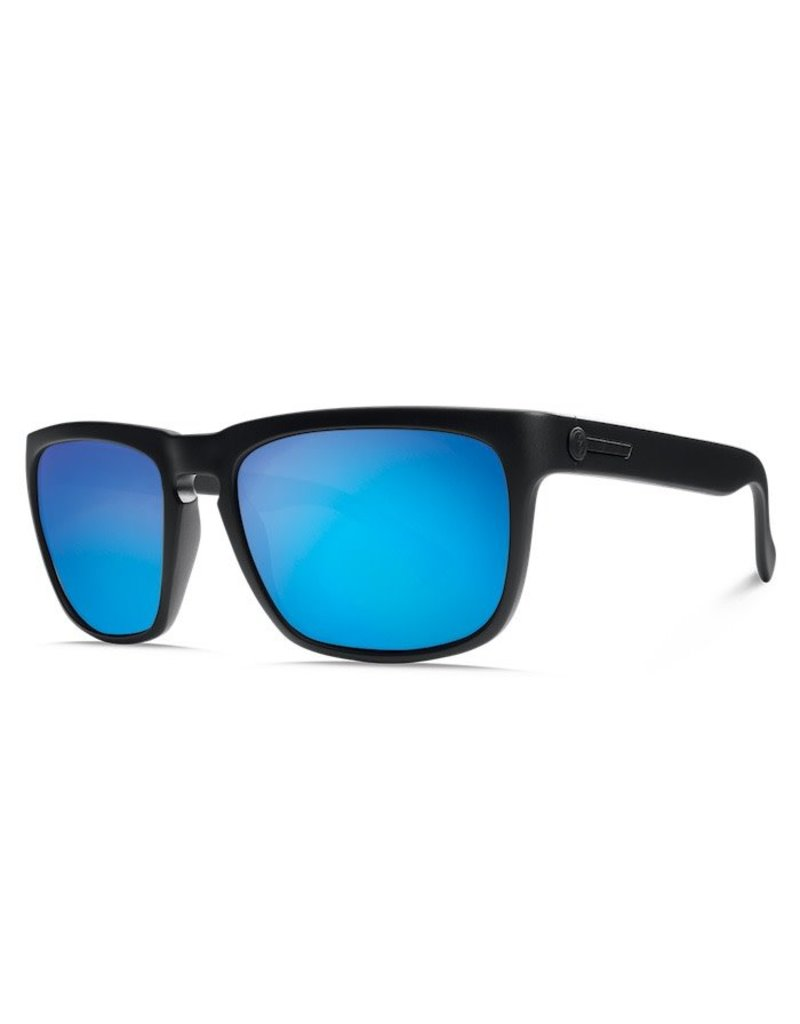 Electric Electric Knoxville Sunnies - Matte Black/Ohm Grey Blue Chrome
