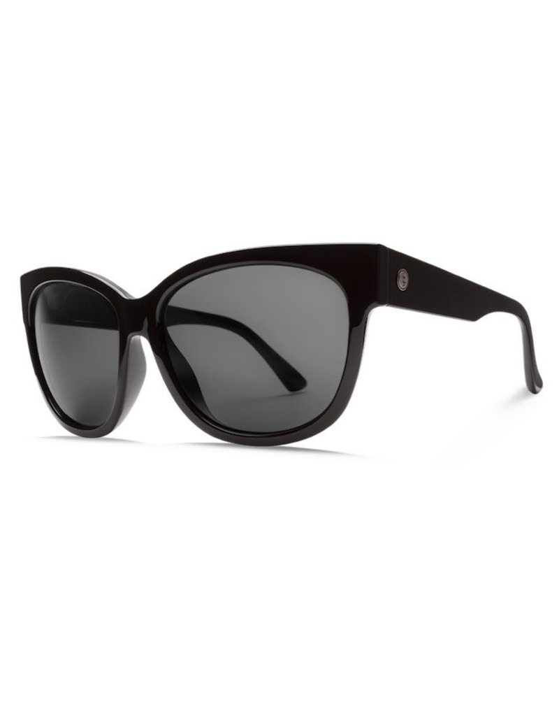 Electric Electric Danger Cat Sunnies - Gloss Black/Ohm Grey