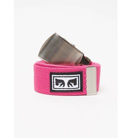 Obey Obey Big Boy Web Belt - Magenta