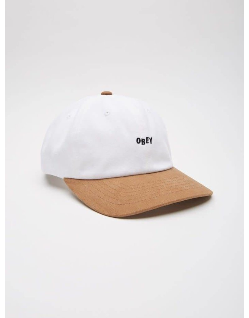 Obey Obey 90's Jumble 6 Panel Cap - White