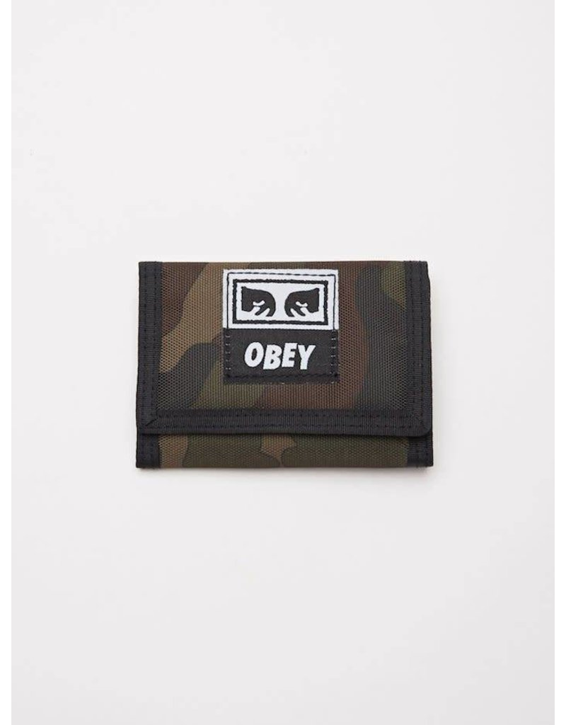 Obey Obey Drop Out Tri-Fold Wallet - Camo