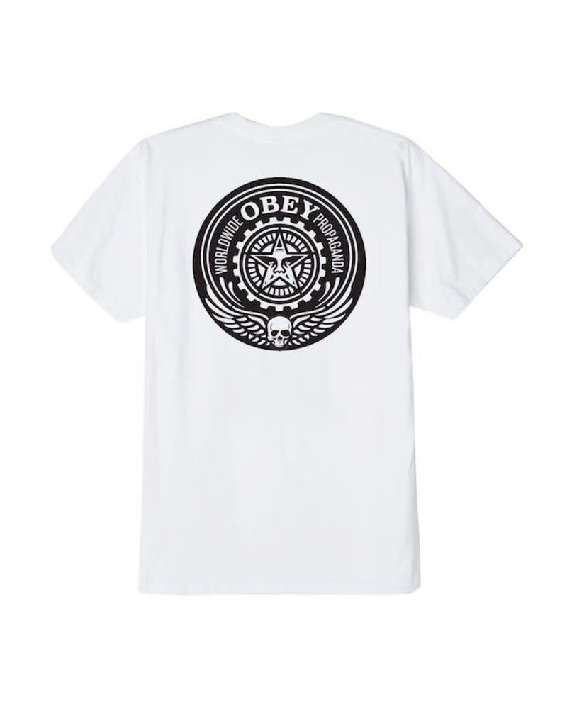 Obey Obey Skulls And Wings T-Shirt