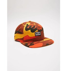 Obey Obey Resist 6 Panel Cap - Orange Camo