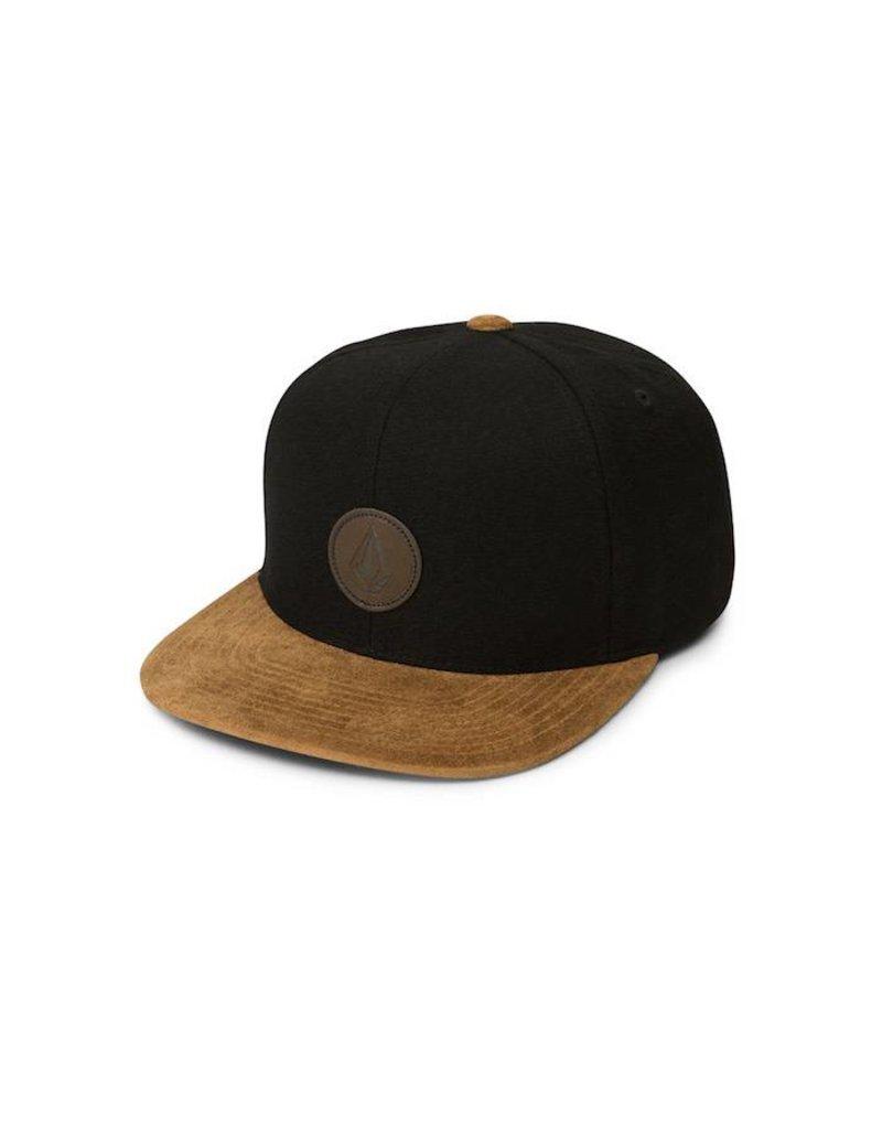 Volcom Volcom Quarter Fabric Cap - Black