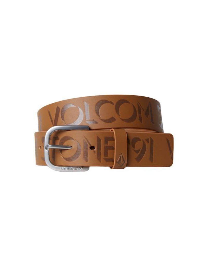 Volcom Volcom Empty Pu Belt - Brown