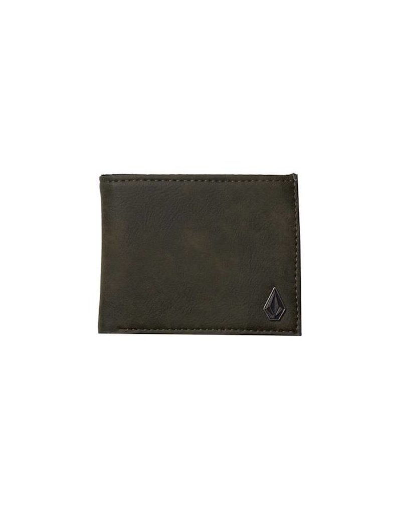 Volcom Volcom Slim Stone Wallet - Green