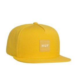 Huf Huf Box Logo Snapback - Yellow