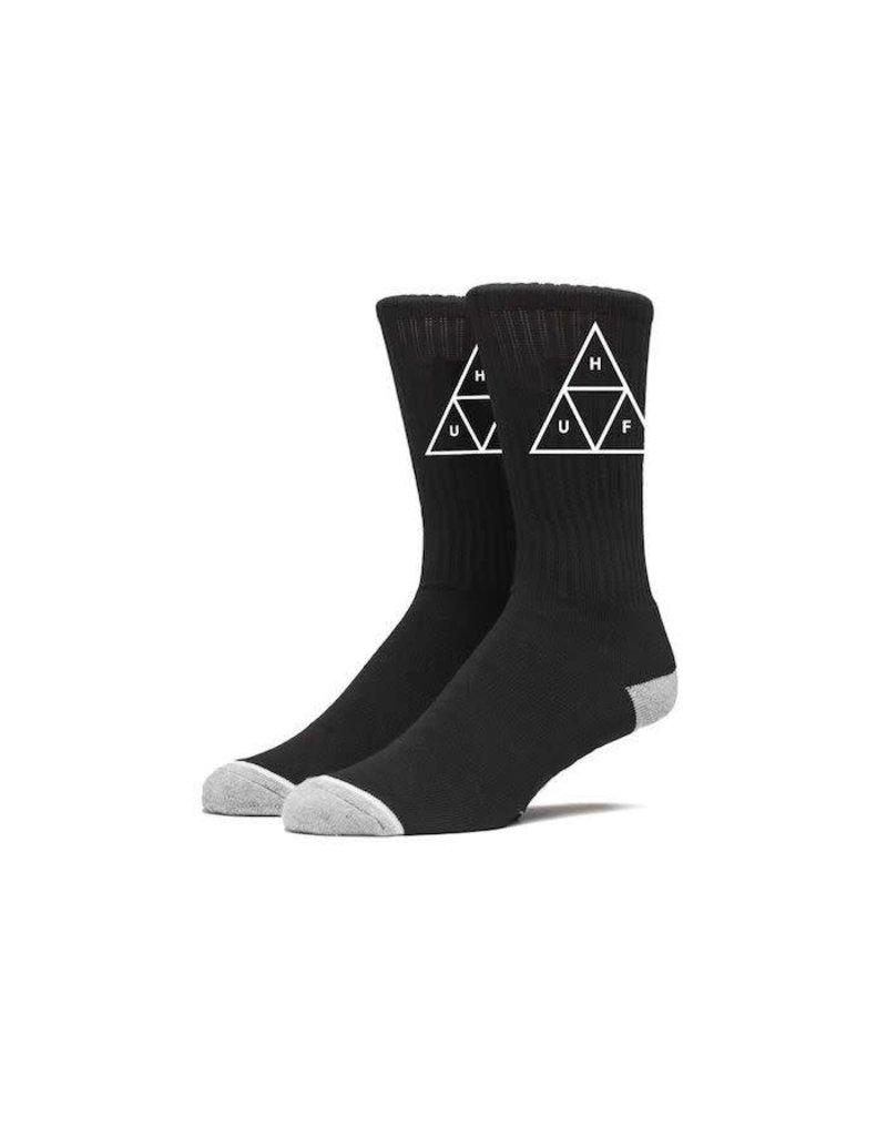 Huf Huf Triple Triangle Crew Socks - Black