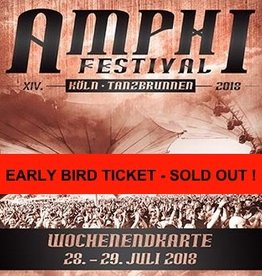 EARLY BIRD TICKET - XIV. AMPHI FESTIVAL 2018