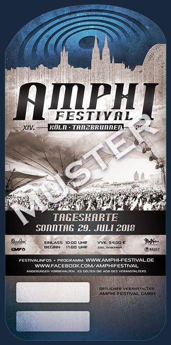 XIV. AMPHI FESTIVAL 201 - SUNDAY - 29. JULY 2018