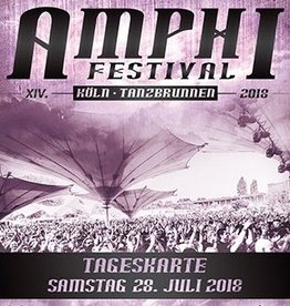 XIV. AMPHI FESTIVAL 2018 - SATURDAY - 28. JULY 2018