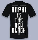 """T-SHIRT - MOTIV """"AMPHI IS THE NEW BLACK"""""""
