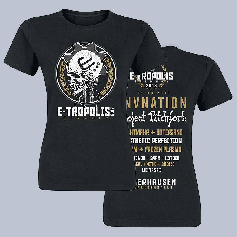 GIRLY-SHIRT - E-TROPOLIS FESTIVAL 2018