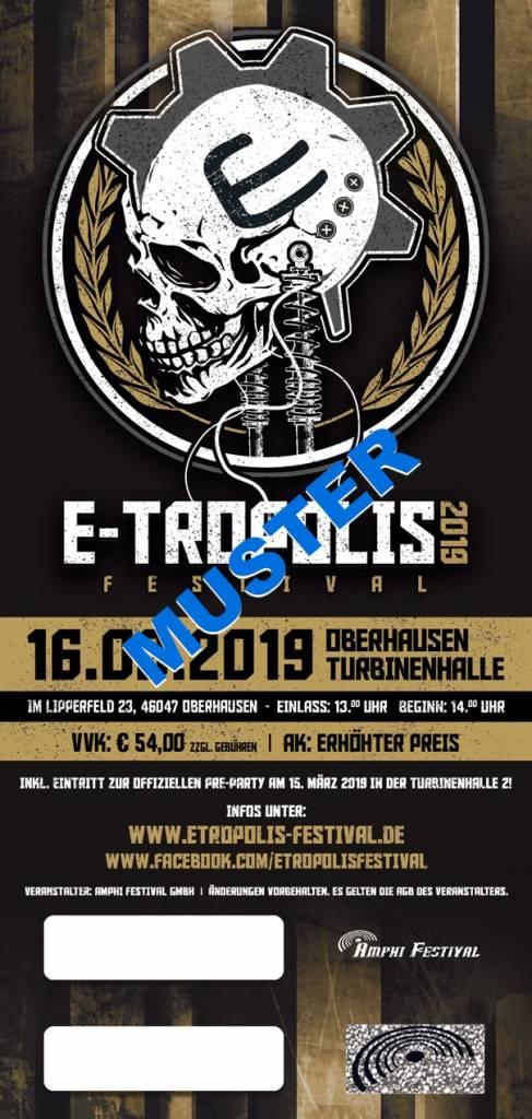 5+1 TICKET - E-TROPOLIS FESTIVAL 2019