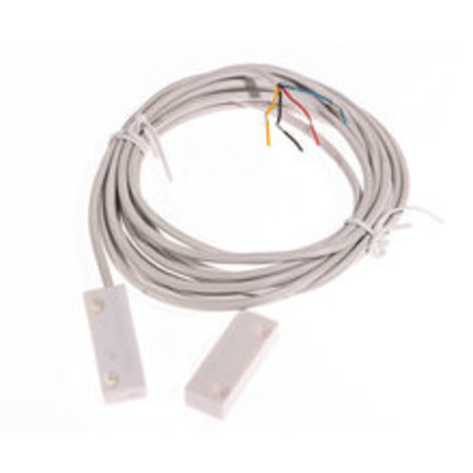 Magneetcontacten voor alarmsystemen en of alarminstallaties